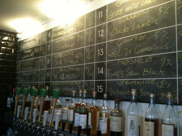 Mikkeller, Mikkeller Bar, SourAmar, Amager Bryghus, Sur øl, spontangærdet øl,