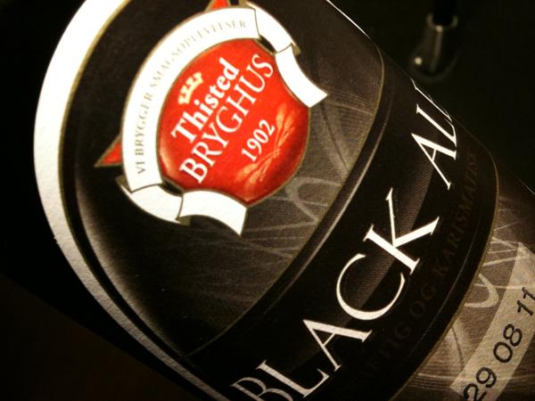 Thisted Bryghus, Black Ale, Allbeer, Martin Goldbach Olsen