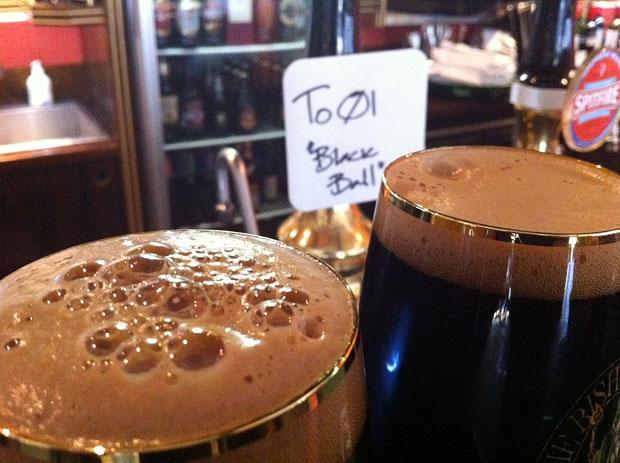 Black Ball, To øl, Allbeer, Martin Goldbach Olsen