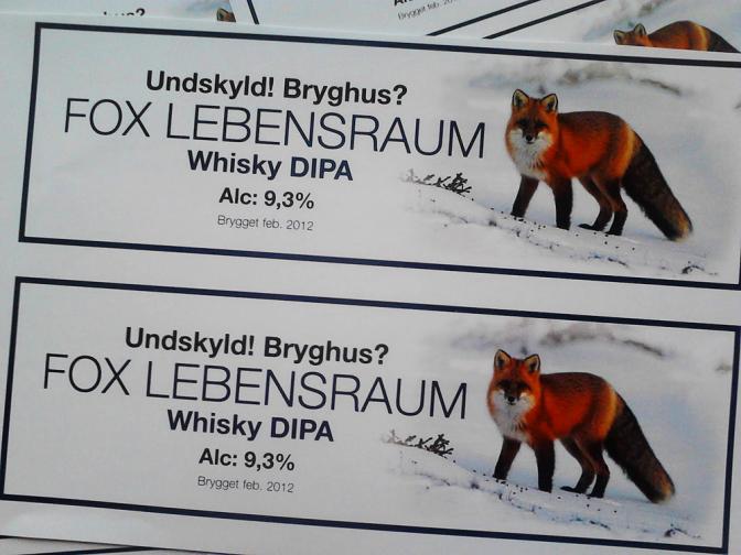 Undskyld!Bryghus?, Martin Goldbach Olsen, Allbeer, Fox Lebensraum