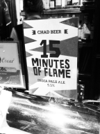 Chad Beer, 15 minutes of flame