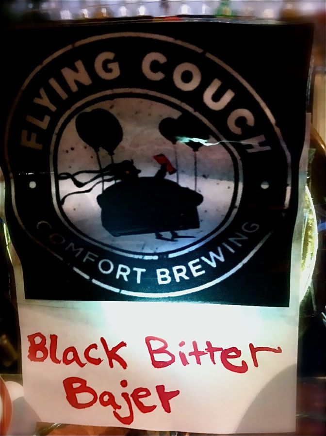 Flying Couch, Black Bitter Bajer, Allbeer. Martin Goldbach Olsen